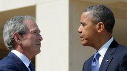 Bush plus populaire qu'Obama aux