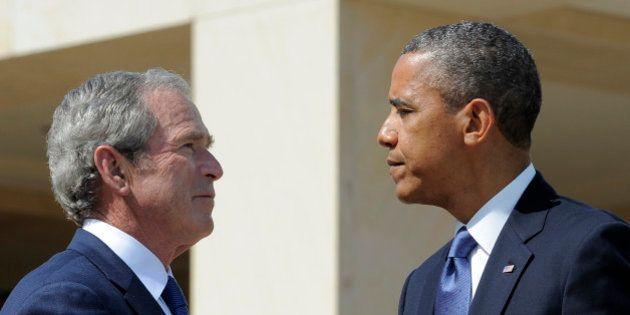 États-Unis: Georges W. Bush plus populaire que Barack Obama selon un