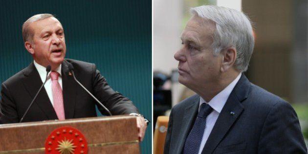 La réponse cinglante de Recep Tayyip Erdogan à Jean-Marc Ayrault sur les purges en