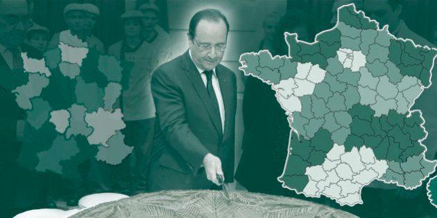 La nouvelle carte des régions de France, par François