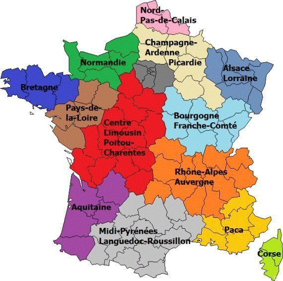 nouvelle carte des regions La France Des Regions Free Download | Ccna Book In Hindi Pdf Free