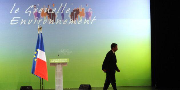 Gaz de schiste: Nicolas Sarkozy met en avant l'emploi plutôt que