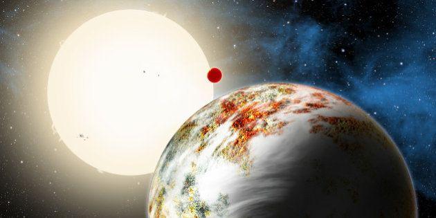 Une méga-planète surnommée