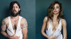 Les poses de Miranda Kerr dans GQ recréées par un