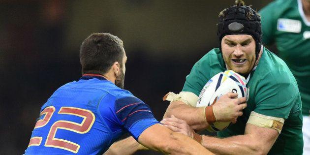 Sean O'Brien suspendu une semaine de la Coupe du Monde de rugby pour son coup de poing à