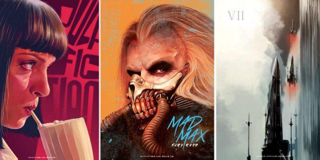PHOTOS. Mad Max, Star Wars: les affiches de films cultes revisitées par une graphiste
