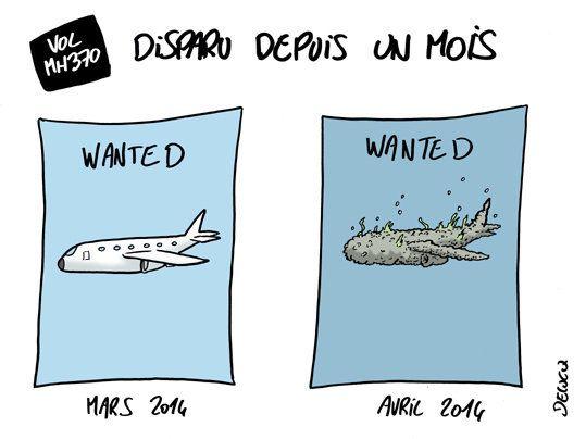 Disparition du Vol MH370: déjà un