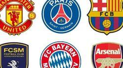 Les clubs (et championnats) les plus représentés à la Coupe du