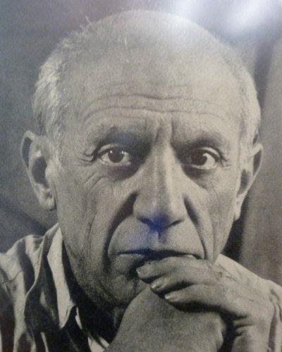 Lettre de Picasso à son ami Bas: