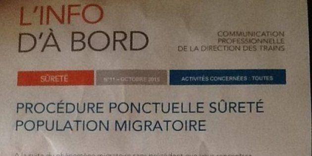 Accusée par le FN de favoriser les migrants, la SNCF revendique
