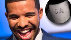 Drake s'est fait tatouer... un