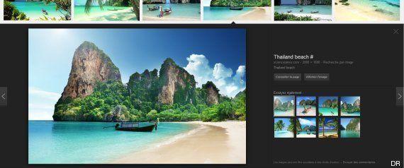 Instagram: Kim Kardashian publie une photo trouvée sur Google pour illustrer ses vacances en
