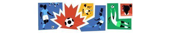 Coupe du Monde Féminine 2015 : Google rend hommage à la compétition de football qui démarre au Canada...
