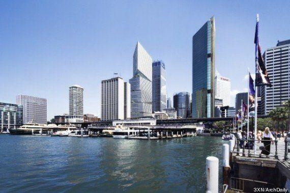PHOTOS. Sydney: une future tour de 200 mètres étonnante près de