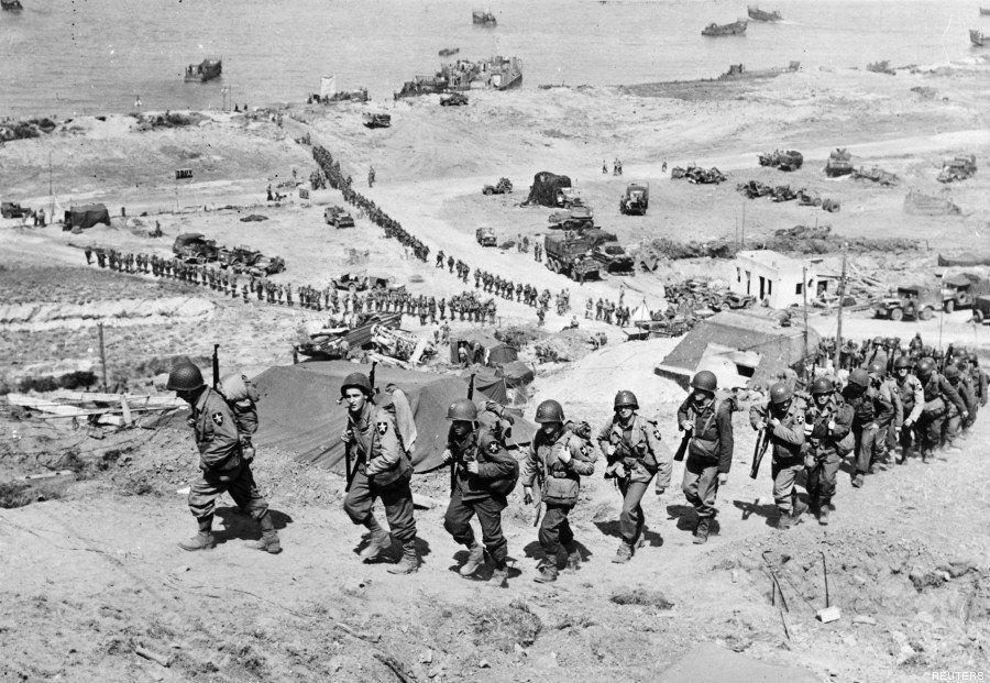 PHOTOS. Débarquement du 6 juin 1944 : 10 images avant-après des plages et villages de