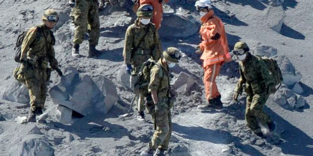 L'éruption d'un volcan au Japon tue plus de 30