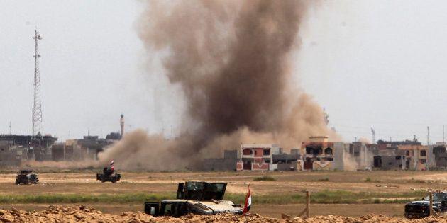 Daech voit un de ses bâtiments détruit par l'armée après le selfie d'un de ses