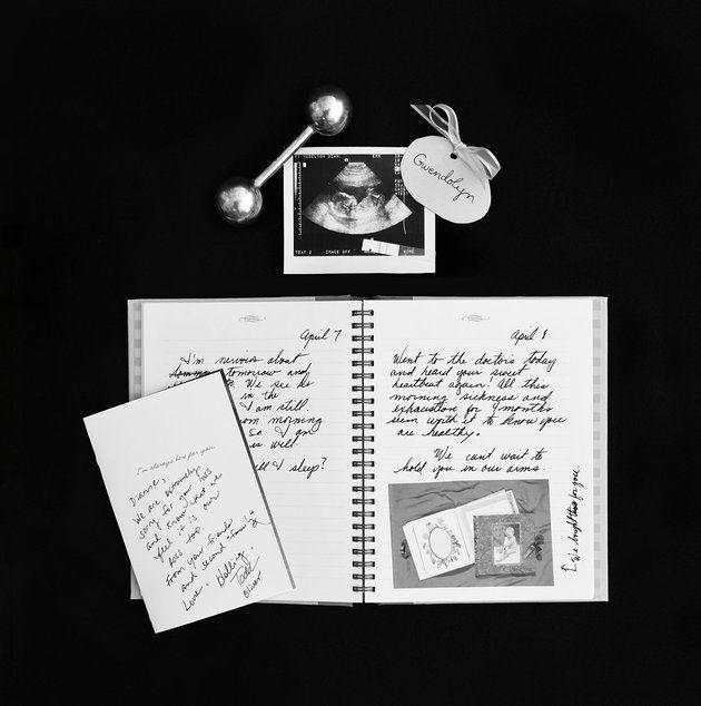 Une mère commémore ses onze fausses couches avec une série de photos