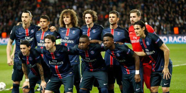 Football Soccer - Paris St Germain v Manchester City - UEFA Champions League Quarter Final First Leg...