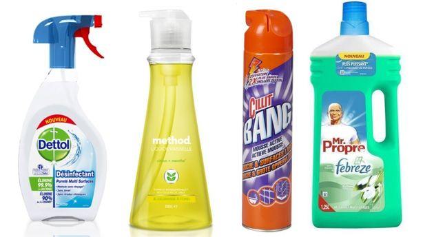 Les 8 produits ménagers à éviter selon 60 millions de