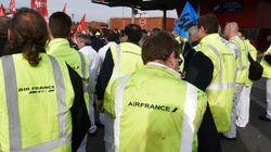 Les cinq salariés d'Air France poursuivis pour violences mis à
