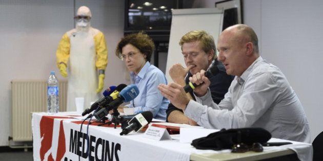 Ebola: l'infirmière française de MSF infectée