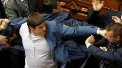 Violente bagarre au Parlement