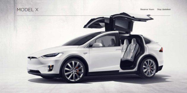 Tesla rappelle 2700 de ses Model X en raison d'un problème de siège