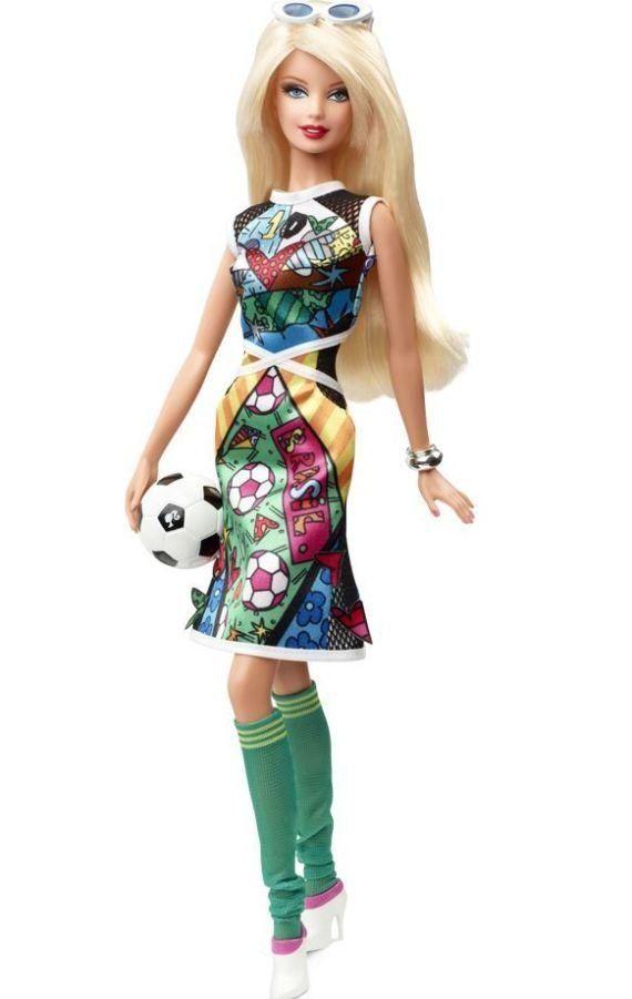 PHOTO. La Barbie de la Coupe du monde s'appelle