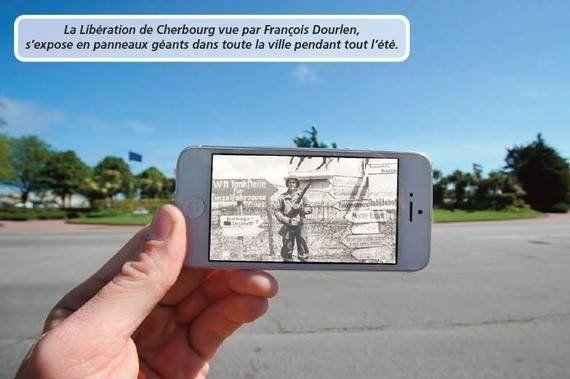 PHOTOS - La libération de Cherbourg-Octeville vue de