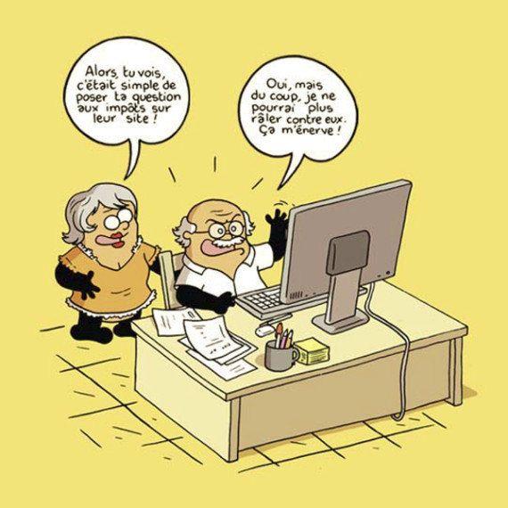 Impôts 2016: Vidberg va-t-il parvenir à rendre drôle la télédéclaration sur les revenus