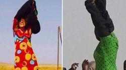 Elles se libèrent de leurs burqas en quittant les zones contrôlées par
