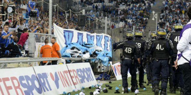 Après les incidents OM-OL, Marseille sanctionné de deux matches à huis clos