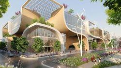 Voici à quoi ressemblerait le centre commercial du