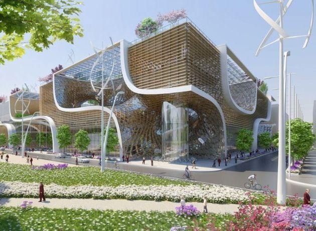 VIDÉO. Le centre commercial éco-responsable du futur imaginé par l'architecte belge Vincent
