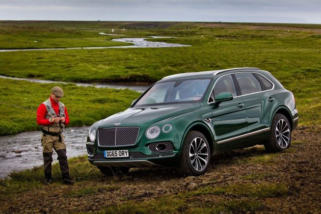 Bentley sort un SUV pour les amateurs de pêche à la