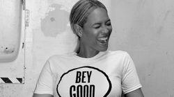 Beyoncé vend des t-shirts (pour la bonne
