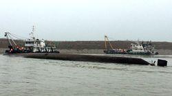 Au moins 331 morts dans le naufrage en Chine, plus d'espoir de