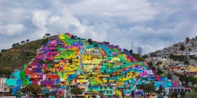 PHOTOS. Ce street art mexicain célébré pour avoir transformé le quartier (et éradiqué une partie de la