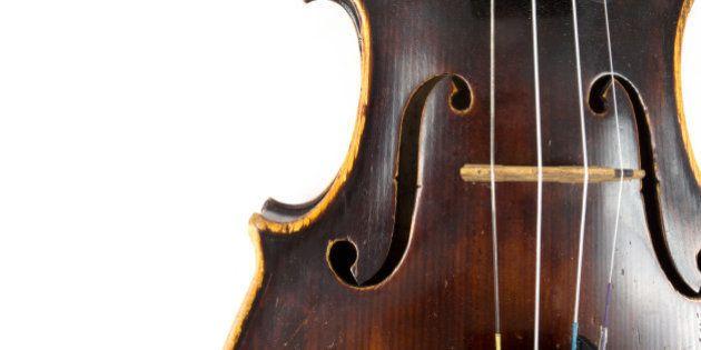 Illustration d'un violon sous creative
