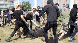 La Gay Pride de Kiev attaquée par des nationalistes, des policiers