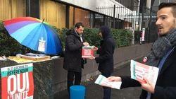 Référendum PS: début des votes sous la pluie, quelques couacs en