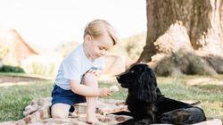 Le prince George a trois ans et il est toujours aussi