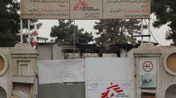 Un blindé a forcé les portes de l'hôpital MSF bombardé de