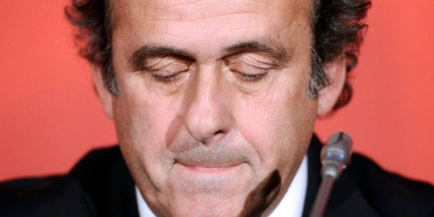 Michel Platini lâché par la Fédération anglaise dans la course à la présidence de la