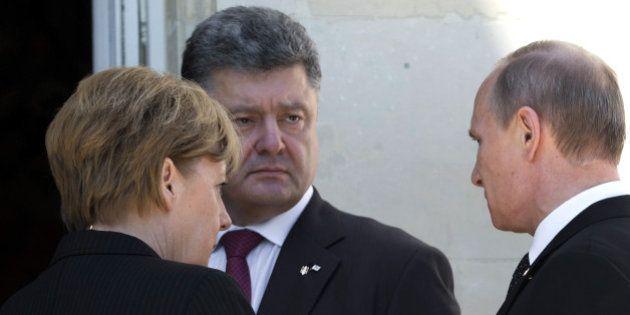 Ukraine / Russie: rencontre entre Poutine et Porochenko en marge des commémorations du
