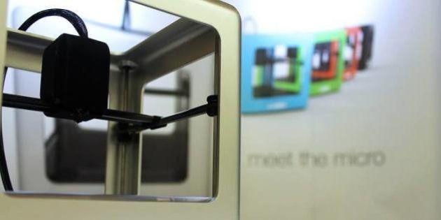 Imprimante 3D: une société américaine invente l'iMac des imprimantes