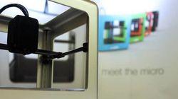 L'iMac de l'imprimante