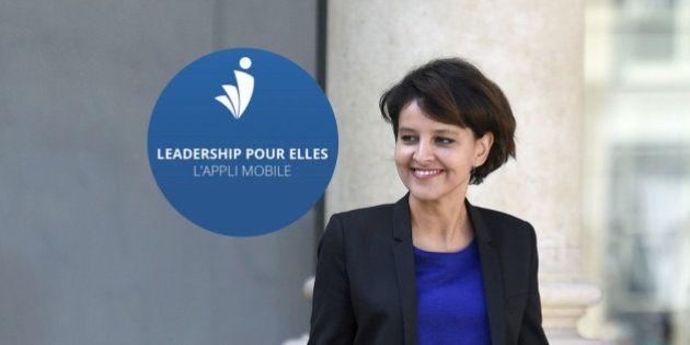 Sur Twitter, Najat Vallaud-Belkacem fière que l'application Leadership Pour Elles soit devant Candy