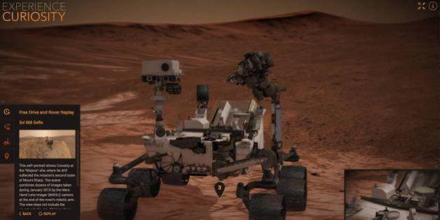 Voyagez sur Mars comme si vous y étiez grâce à la simulation